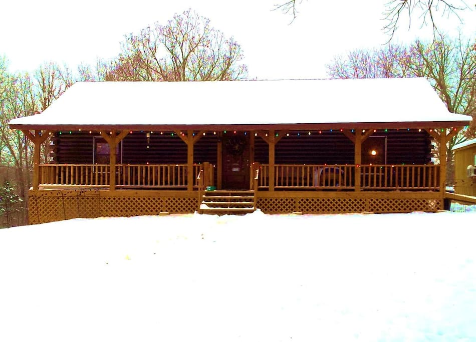 The Log Home at Promised Land Farm