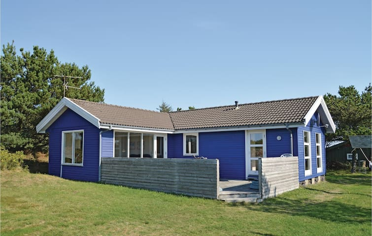 Holiday cottage with 4 bedrooms on 100m² in Fjerritslev