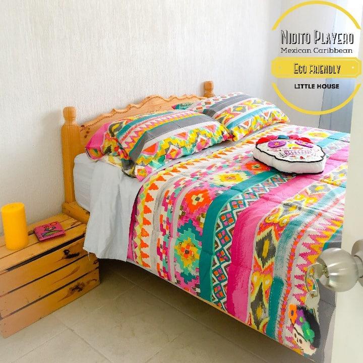 Habitación Frida (AC, Ventilador y Filtro de Agua)