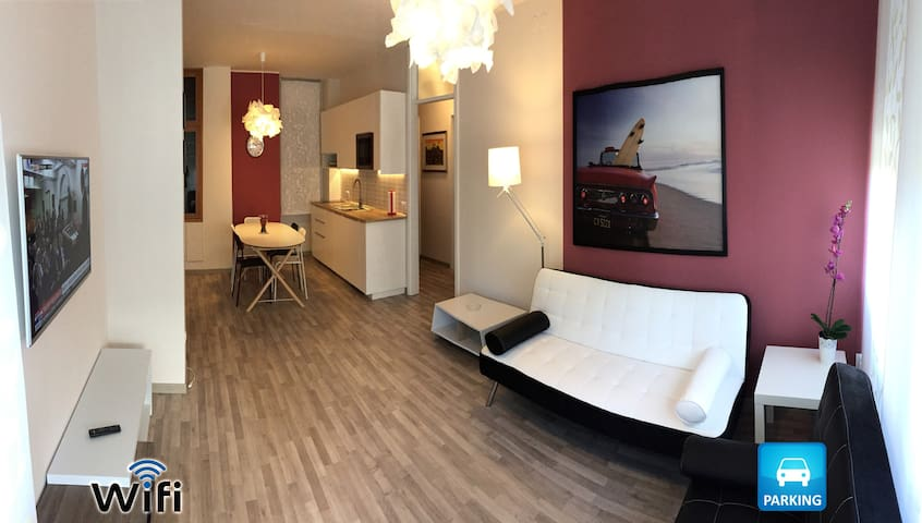 Splendido appartamento fronte mare con posto auto - Lignano Sabbiadoro - Appartement