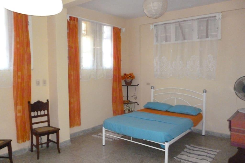 Schafzimmer Apartment 1