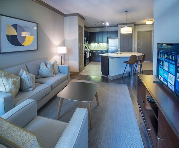 Beautiful, Modern 1BR w/Upscale Amenities Included