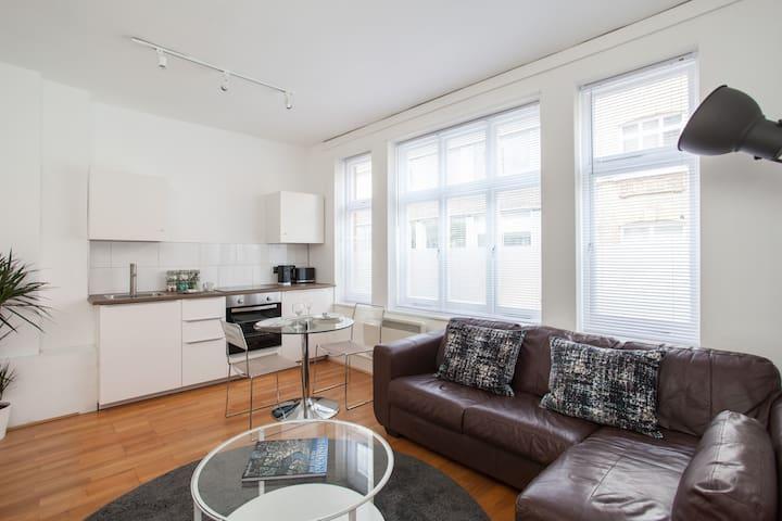 Bright Modern Apartment, Berwick & Poland Street