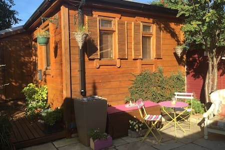 Cute Comfortable Cosy Cottage in Bray Co Wicklow - Bray - Blockhütte