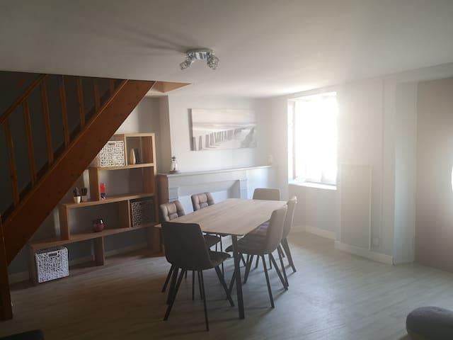 Appartement de 60m² au cœur du Bourbonnais