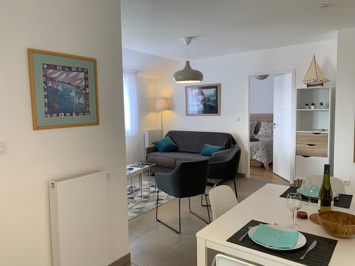 Appartement T2 de standing , emplacement idéal
