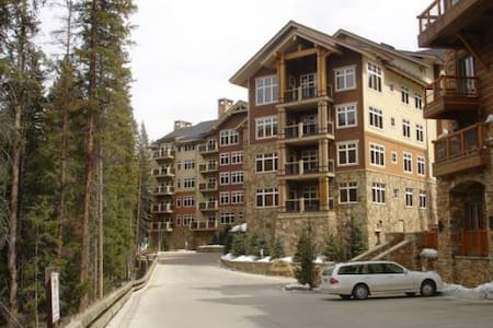 Luxury 2 bed 2 bath ski-in, ski-out - Keystone - Osakehuoneisto