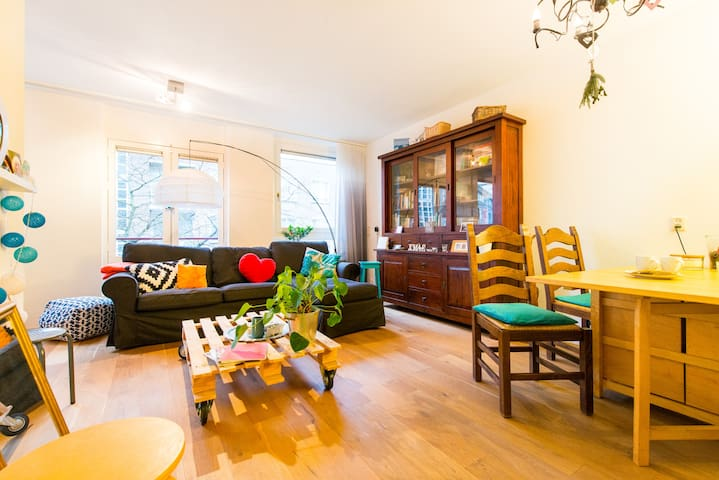 Comfortable and cozy apartment in buzzing East! - Amsterdam - Apartment