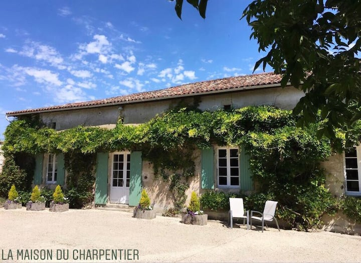 La Maison du Charpentier - Luxury, hot tub, pool