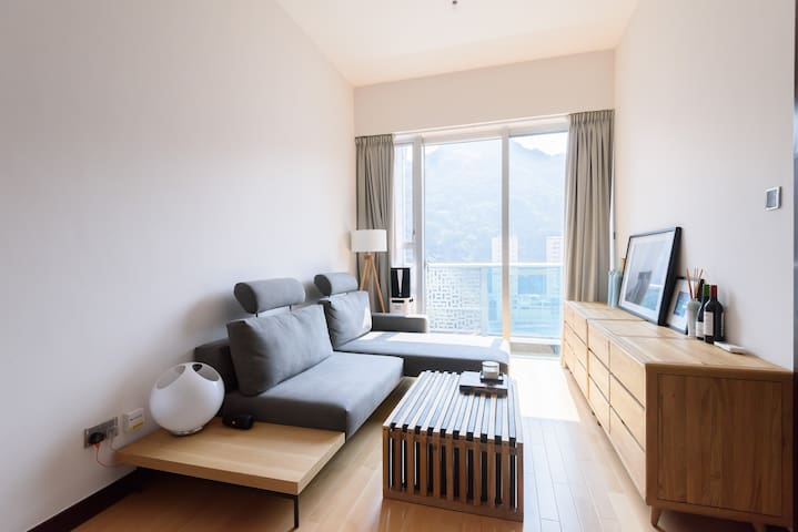 Modern,spacious 1bd w.great rooftop - 香港島 - 公寓
