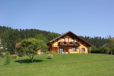Un chalet à la montagne, uniquement pour vous ! - Grand'Combe-Châteleu - Hytte (i sveitsisk stil)