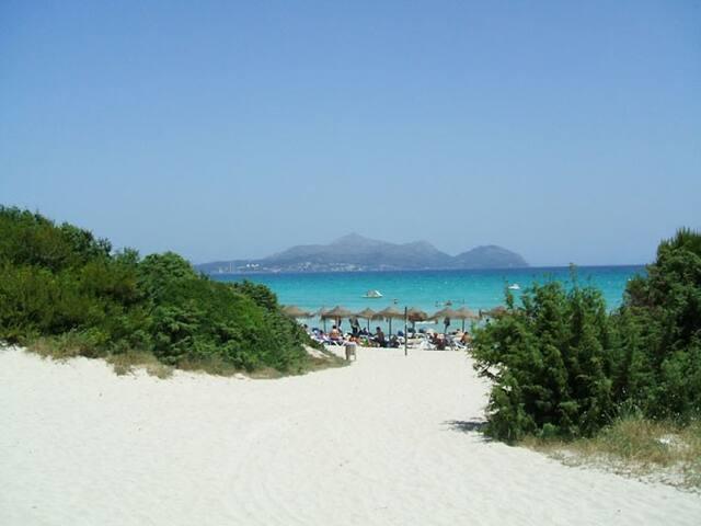 Apartamento junto a la playa en zona de Alcudia - Muro - Byt
