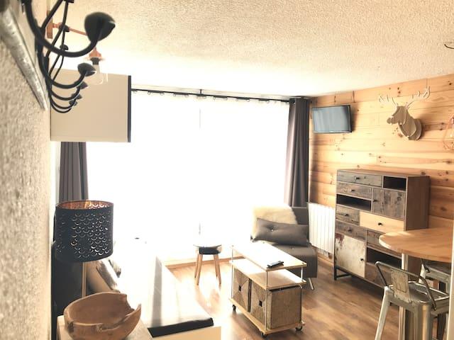Appartement Chaleureux 2 Alpes hypercentre station
