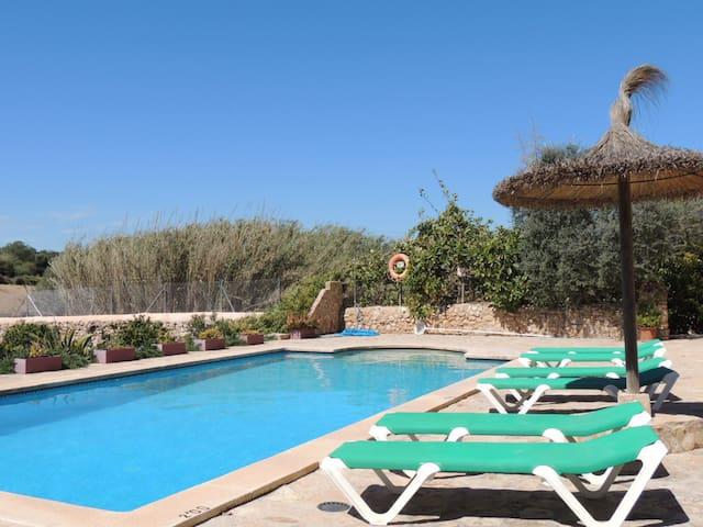 finca rustica con piscina privada en Felanitx - Felanitx - Chalet
