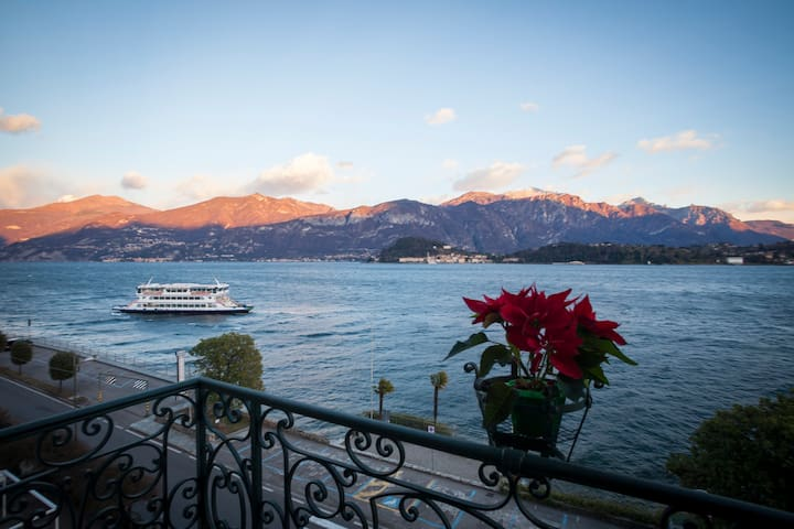 Lake Como apt with stunning view over Bellagio - Griante - Apartemen