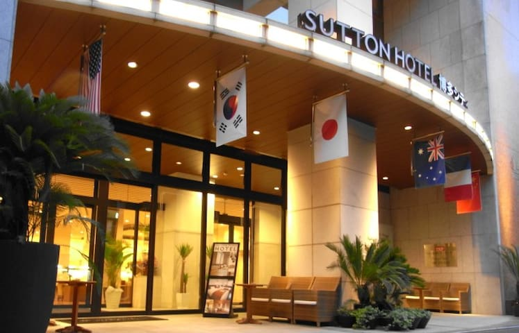 Sutton hotel hakata city's Semi Double_R1