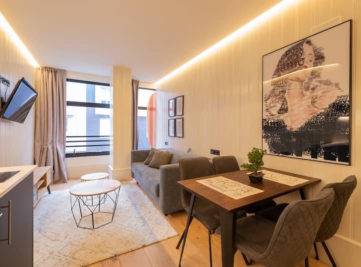 Apto Oslo A/C by Bilbao Metropolitan Apartments