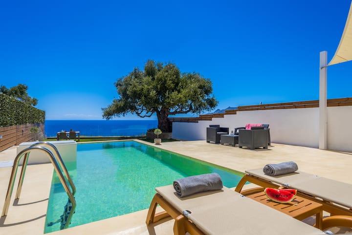 Αναπνοή Villa with Private Pool
