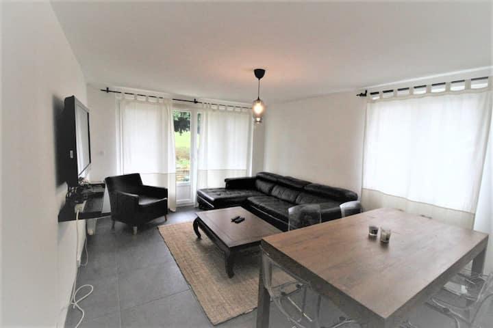 Appartement 45m2 + Jardin + RER A Paris en 20min