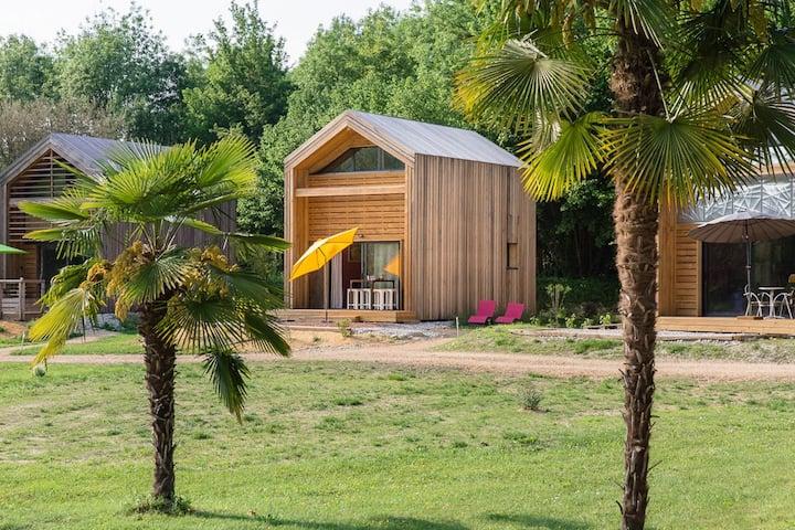 Les nids du Chat - Chalet indépendant - grand parc