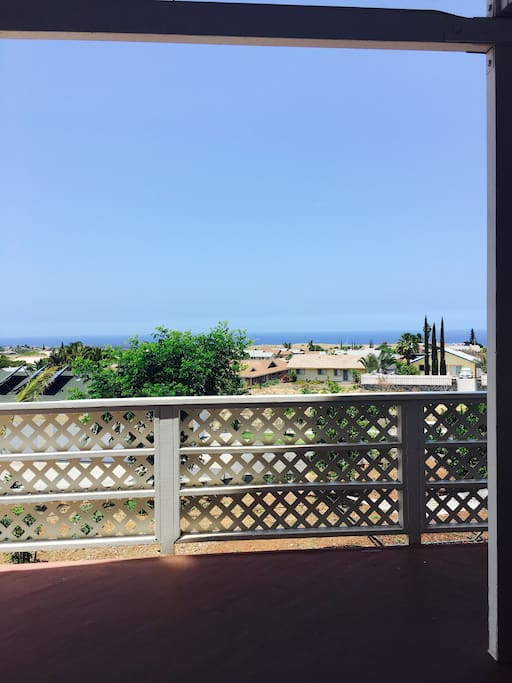 View to the horizon from your lanai
