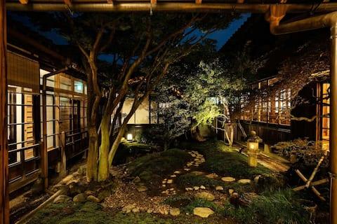 [TEMPLE HOTEL]Room ORI with Open air bath