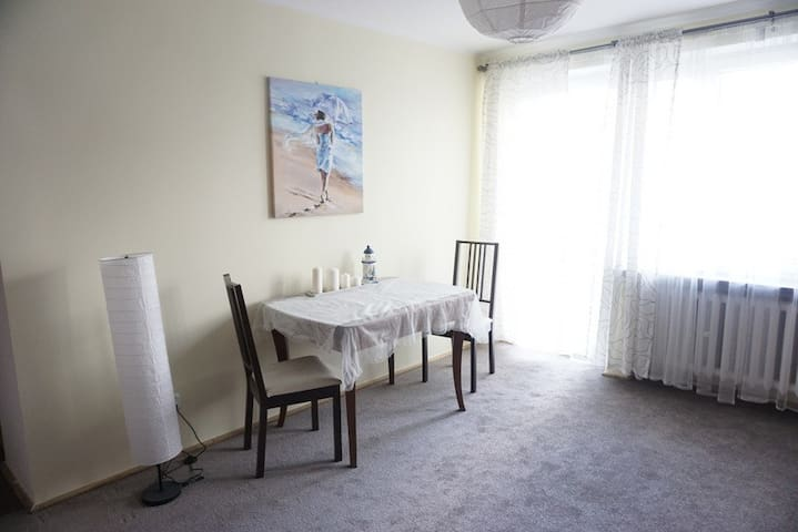 Lovely flat, quiet, sunny, 2-rooms