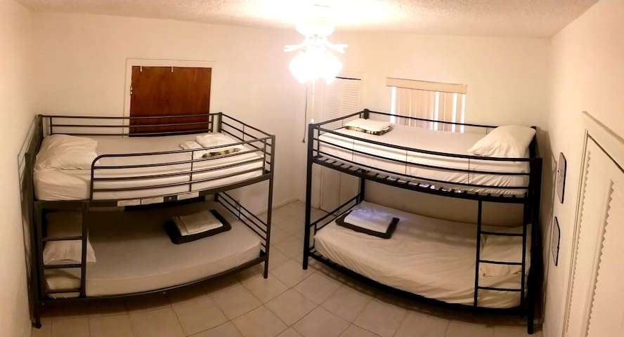 Quadruple Mixed Shared Room 5