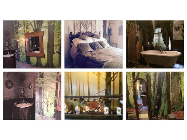Central Scarborough lovely woodland themed room - Scarborough