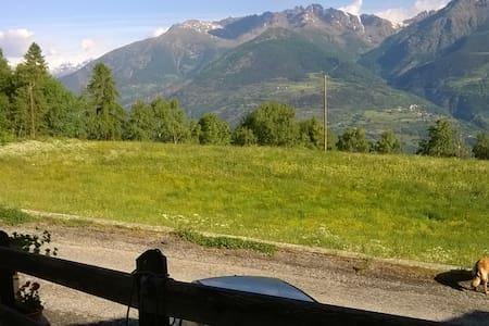 affitto casa in montagna - Seissogne - Rumah