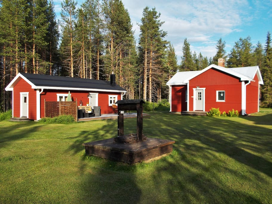 Guesthouse and sauna summer