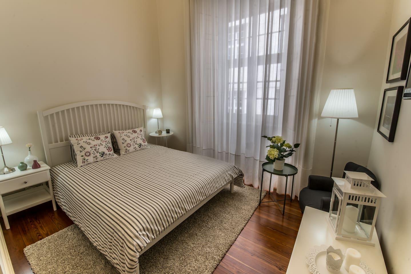 Vista geral quarto de cama - overview Bedroom