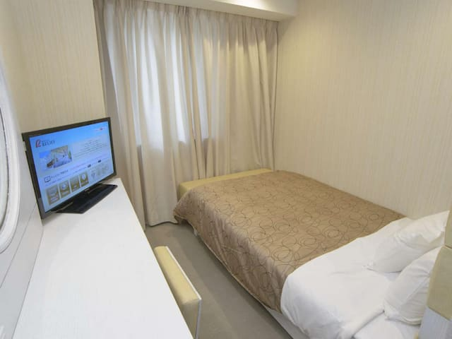 Large public bath/3 min walk from Nakajima Koen Station ! Non-smorking room