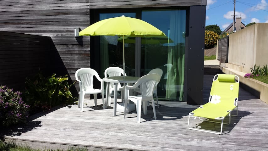 location bord de mer 300m plage - Locmaria-Plouzané - Apartment