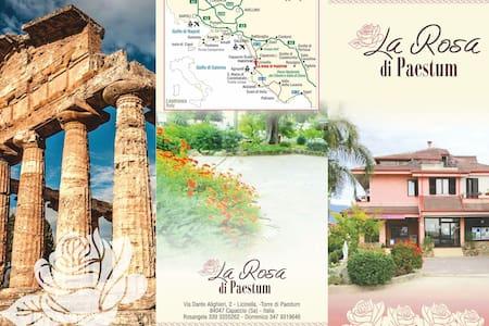 """Casa Vacanze """"La Rosa di Paestum"""" - Maison"""