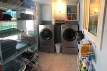Washer and dryer available, no fee