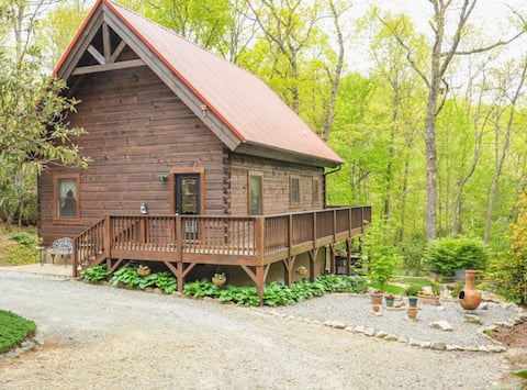Nama-Stay - Cabin minutes from Pisgah and Dupont