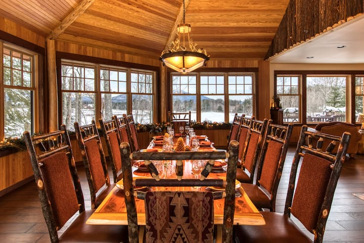 HemLocke Lodge Dining/Whiteface view