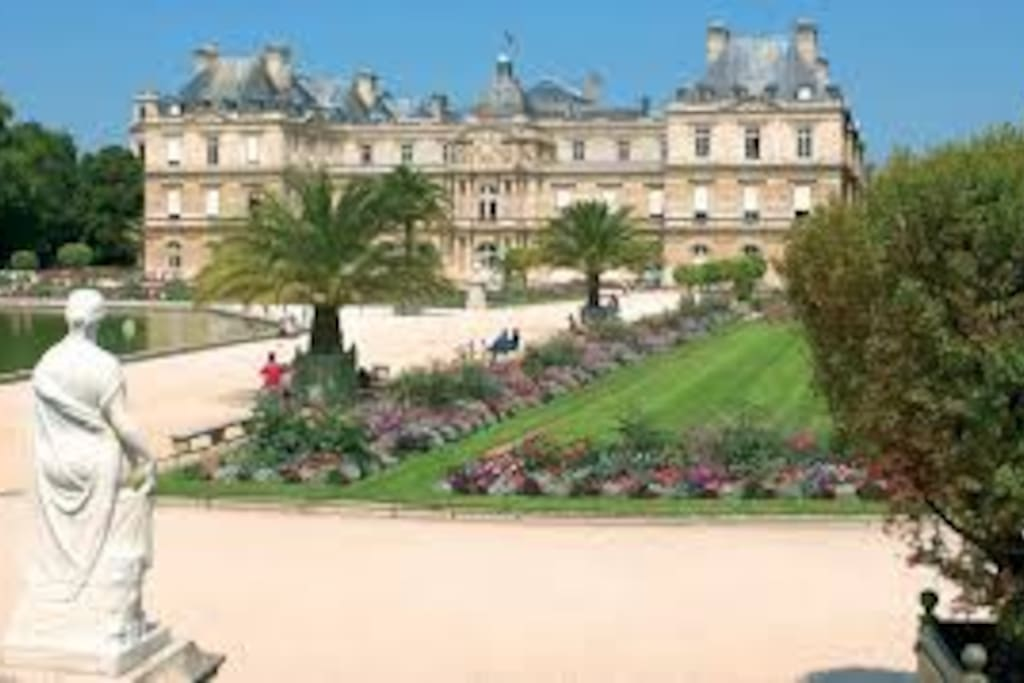 50 meters away from Luxembourg Garden