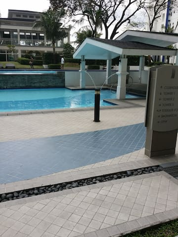 Swimming pool in building 1
