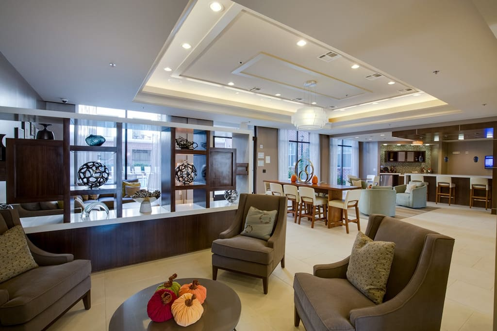 Fabulous Lobby at this Urban apartment home