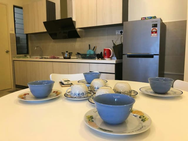 温馨小屋Cozy home for 4pax 5min drive to JonkerWlk Mlk