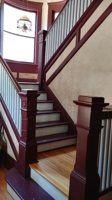Front Stairway to Room