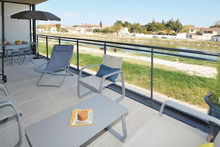 Holiday apartment with 1 bedroom on 45m² in Aigues-Mortes