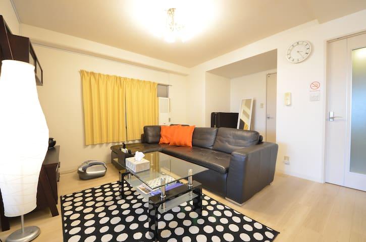 Osaka★Nipponbashi 5min Harukas14min VIProom★9B - Ōsaka-shi Tennouji-ku - Apartment