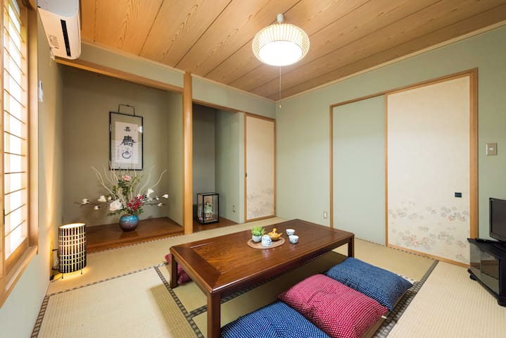 Comfortable house with Mt. Fuji View ! BearhouseD
