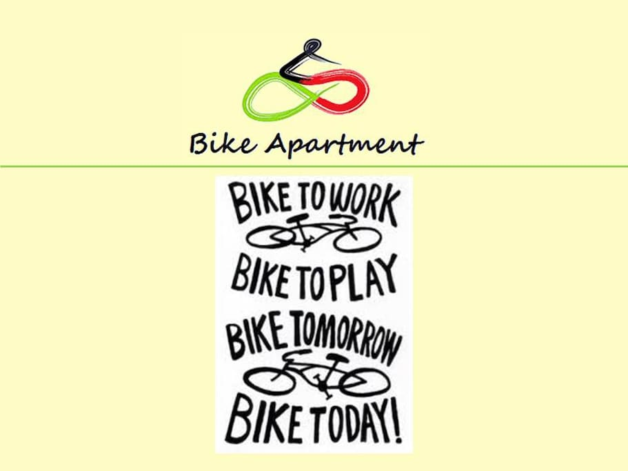 Let's bike today!