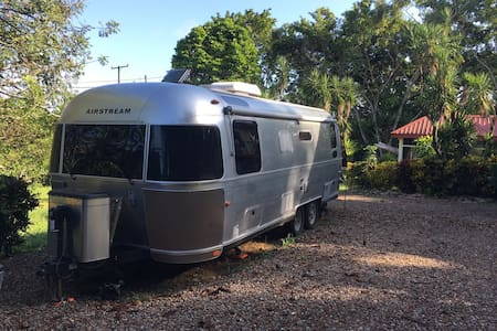 Airstream in the jungle - San Antonio