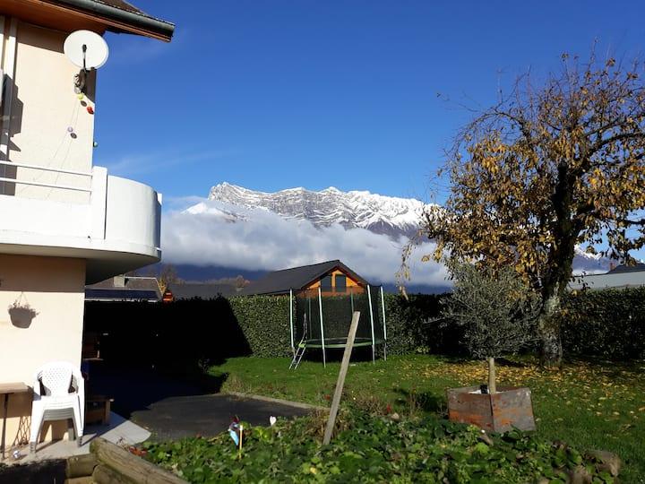 Appartement indépendant Rdc maison Combe de Savoie