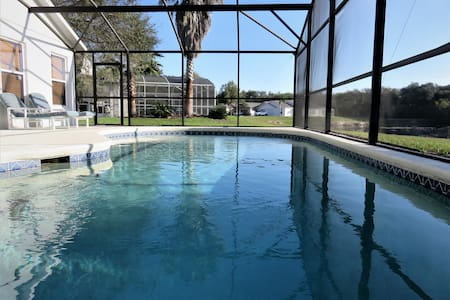 South Facing, Pet friendly house close to Disney - クレルモン - 別荘